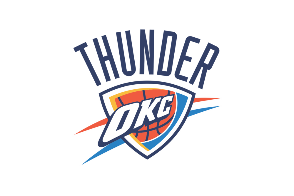 png royalty free library Okc thunder clipart. Western conference jersey bros