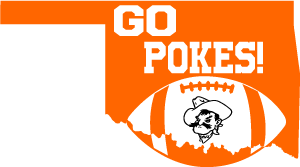clip transparent download Oklahoma State Pistol Pete Football SVG DXF PNG Digital Cut Files