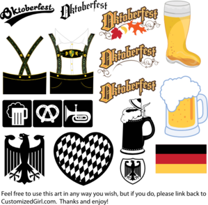 picture library library Oktoberfest clipart. Free use multi format.