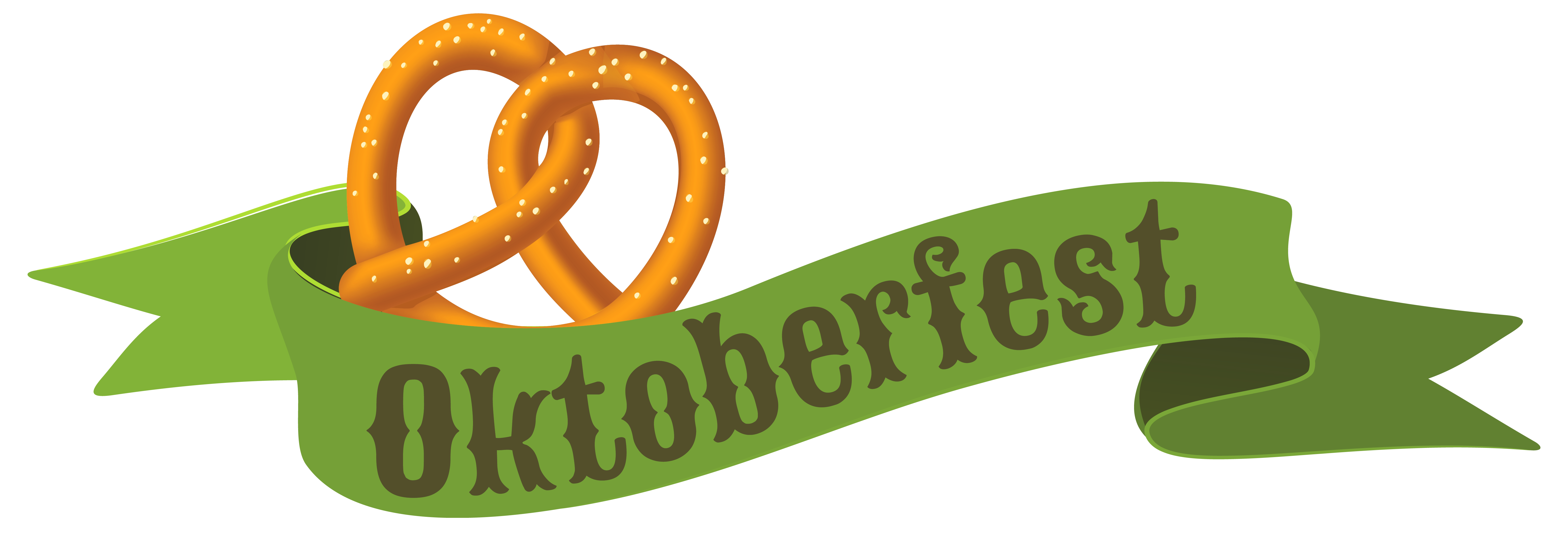 clipart library library Green banner png image. Oktoberfest clipart.