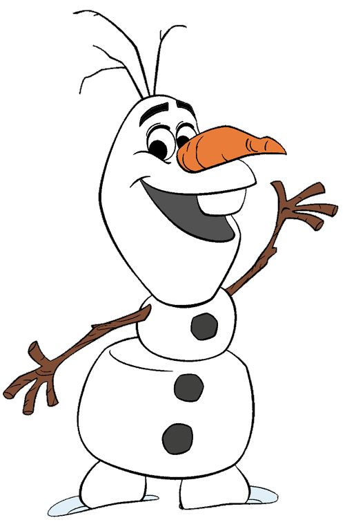 jpg royalty free download Olaf clipart. Free cliparts download clip