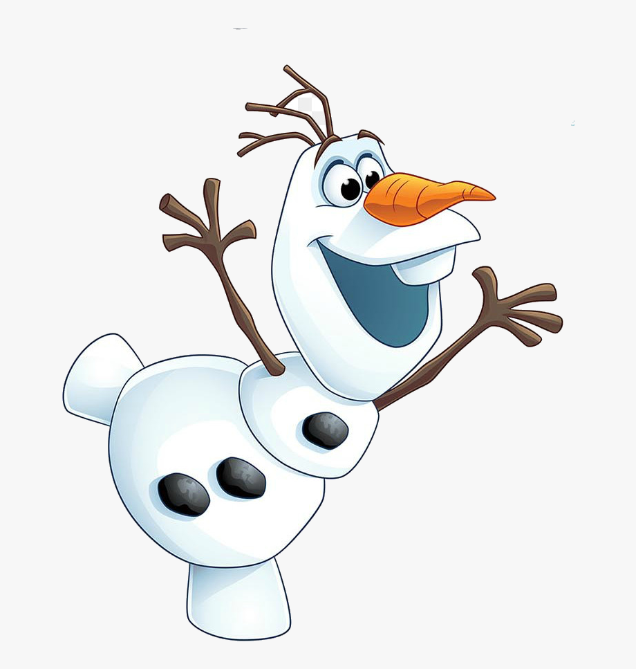 jpg black and white library Olaf clipart. Clip art frozen at