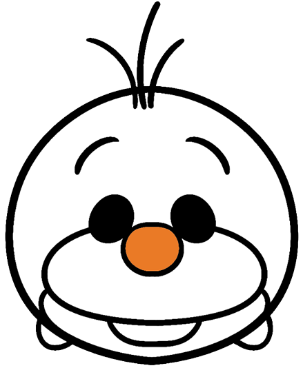 svg transparent library olaf vector face #114778831