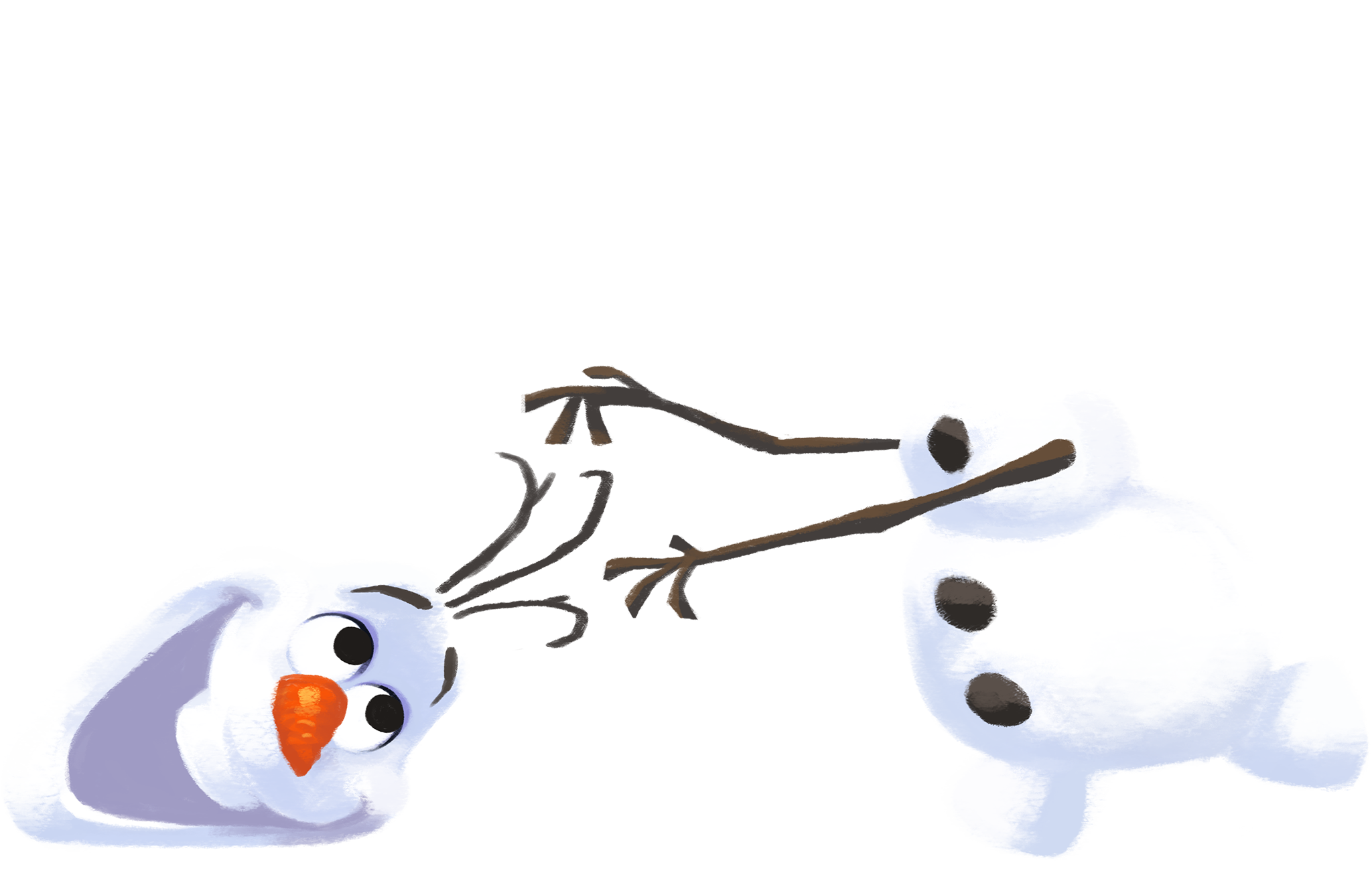 picture Olaf clipart head