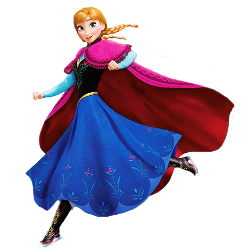 download Transparent Princess Anna wallpaper probably with a kirtle in The