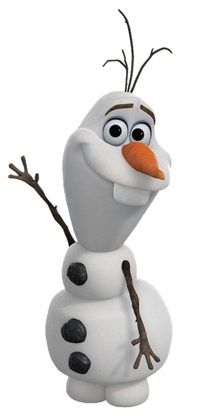 clipart black and white stock Olaf Transparent