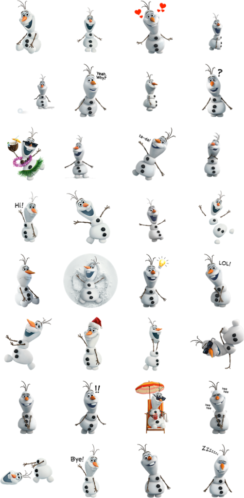 png freeuse library Olaf clipart silly. Stickers planner journal pinterest