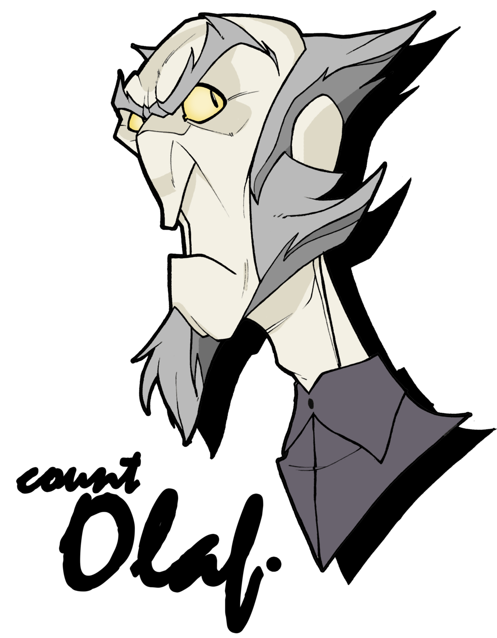 freeuse library Count Olaf by MrGreenlight on DeviantArt