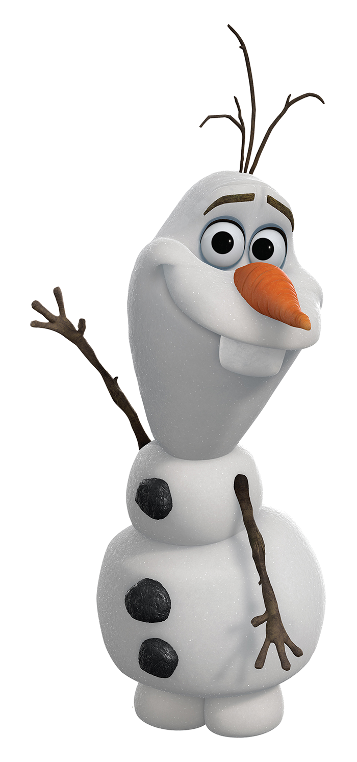 clip library olaf clipart thinking #81556422