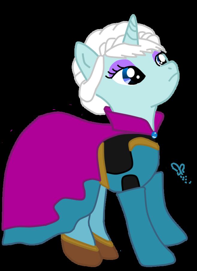 freeuse Elsa clipart pony