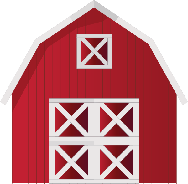 banner library download Red Barn Clip Art at Clker