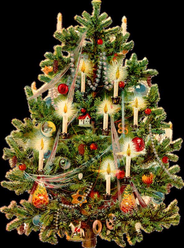 jpg free stock Victorian tree printable