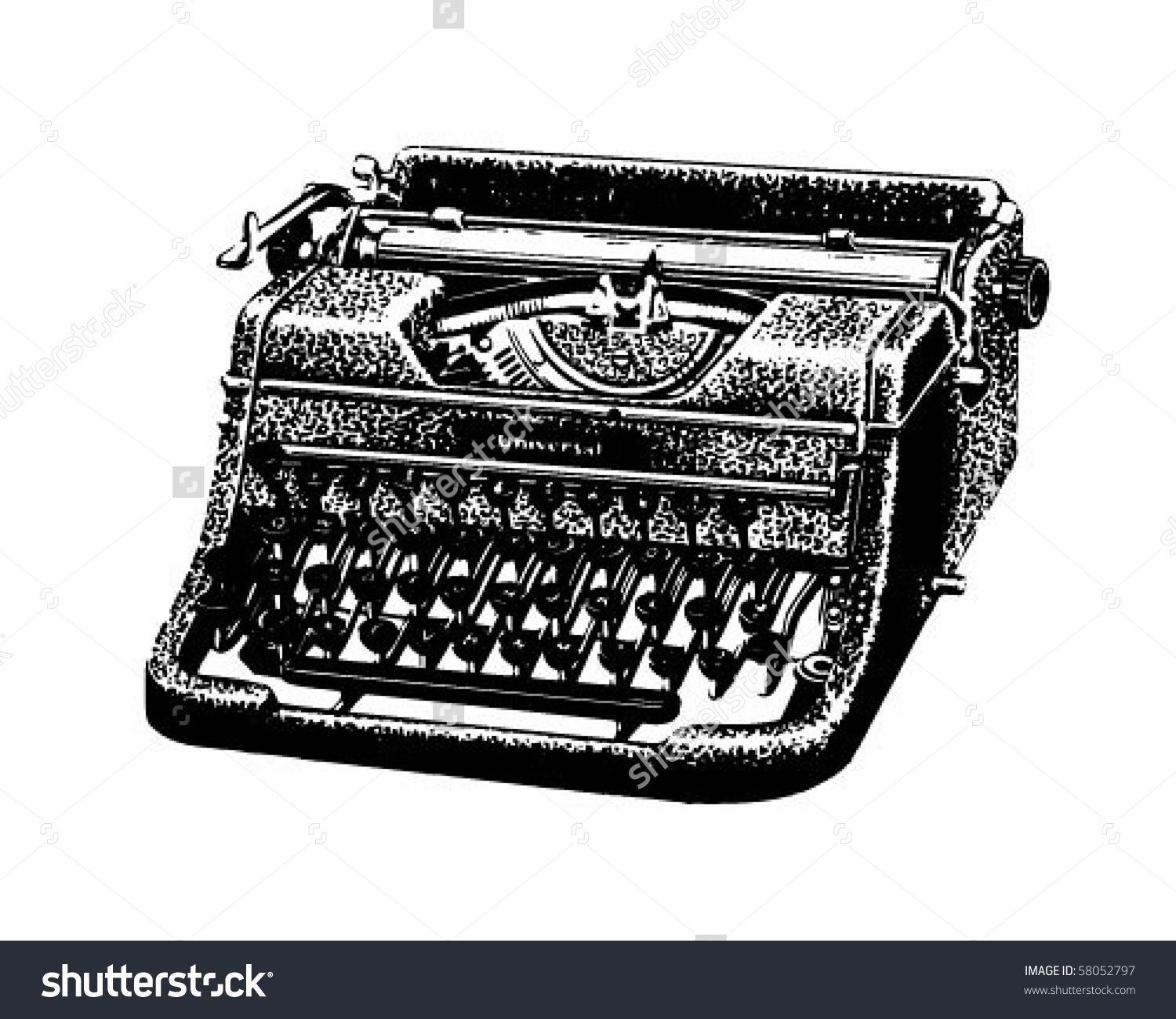 vector free download Typewriter vector vintage. Image result for old