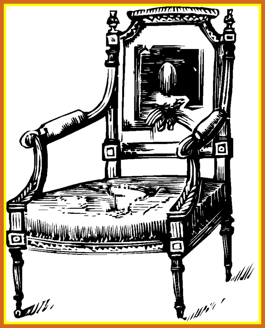 image free library Shocking Home Decor Table Vintage Furniture Clip Art Old Antiq