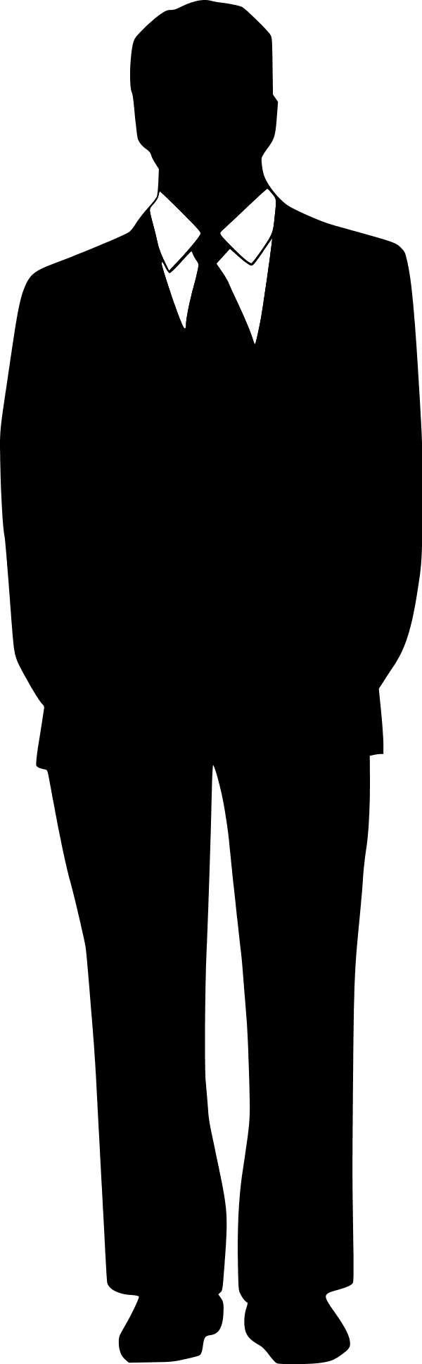 jpg Men silhouette clip art. Black man clipart