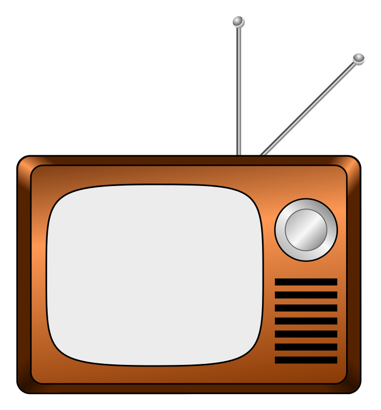 png free download Frame clipart . Television drawing old school.