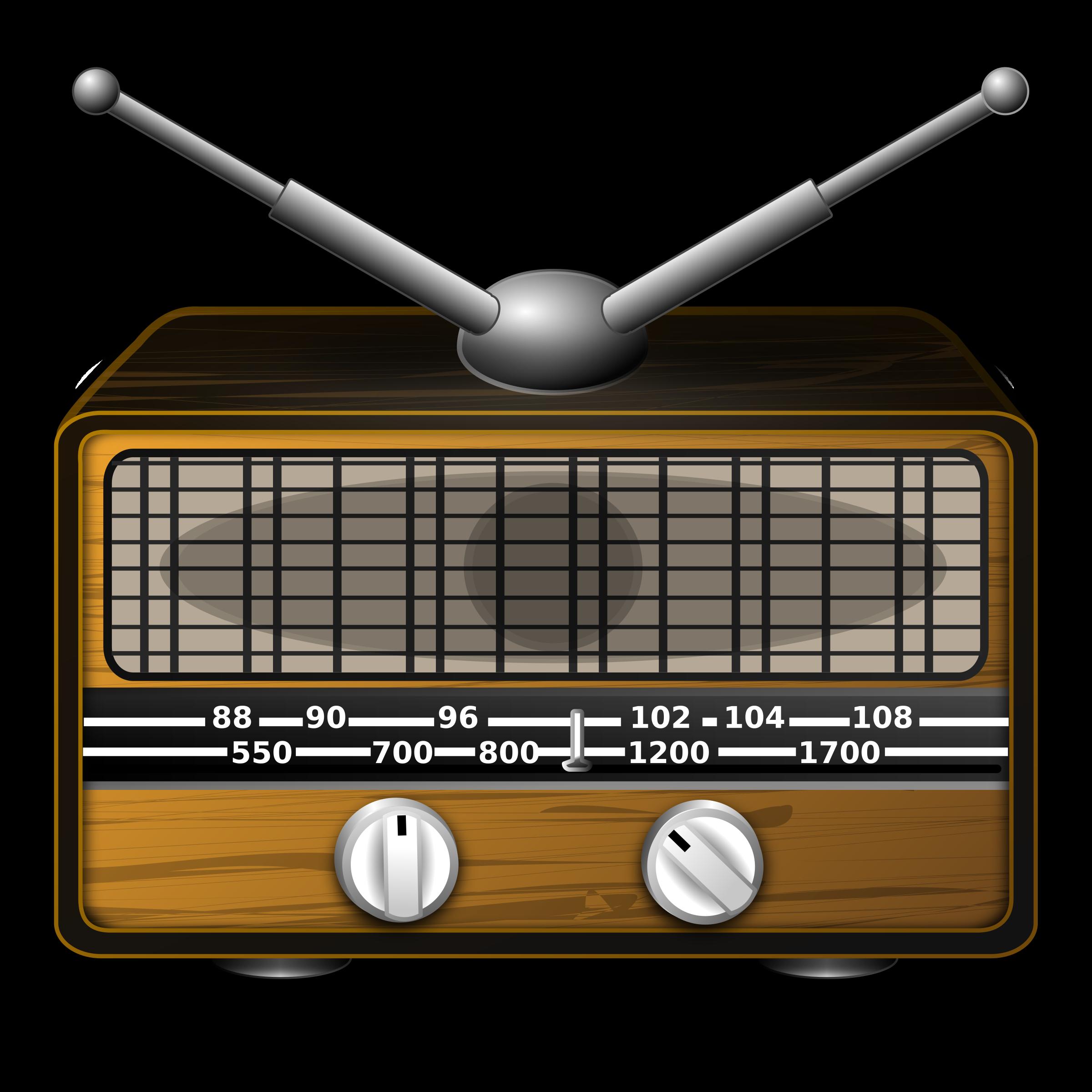 graphic transparent library Radio Clip Art Images