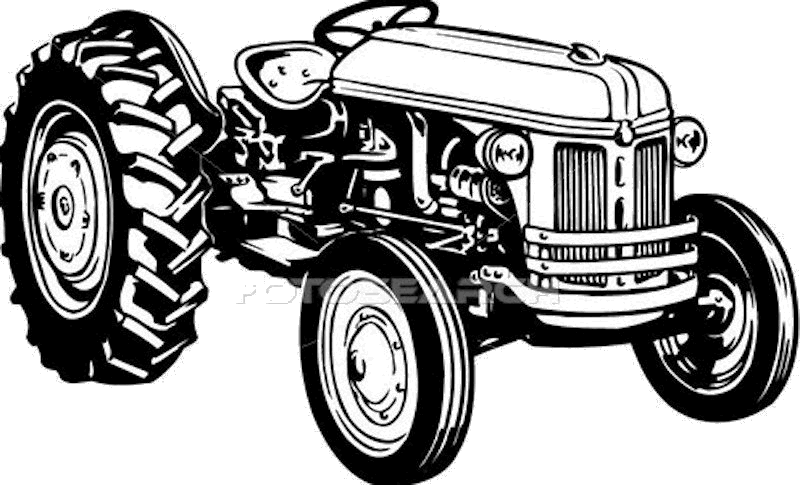 royalty free stock Vector tractor. Free antique tractors cliparts