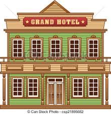 png download  best old west. Western town clipart