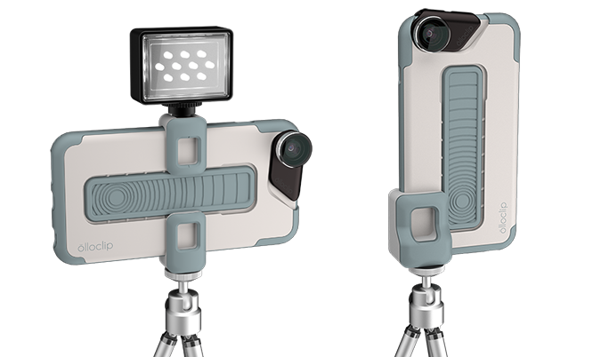 clip art black and white Olloclip launches Kickstarter for Studio mobile photography system