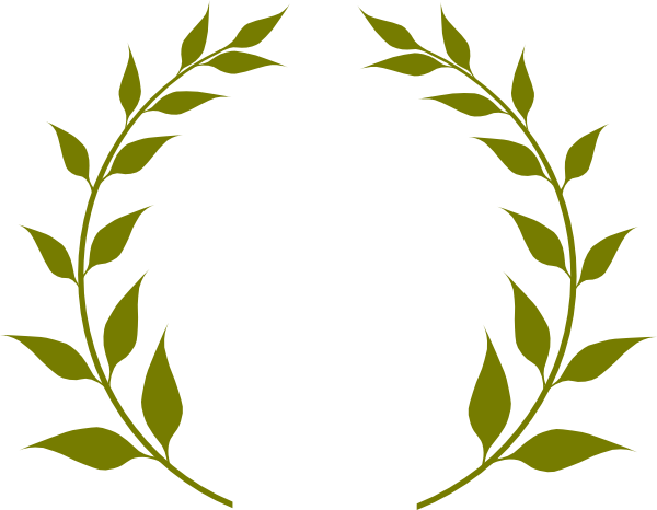 image freeuse stock Clip art at clker. Olive branch wreath clipart