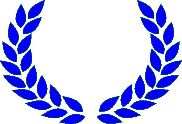 clip art stock Olive blue clip art. Vine wreath clipart