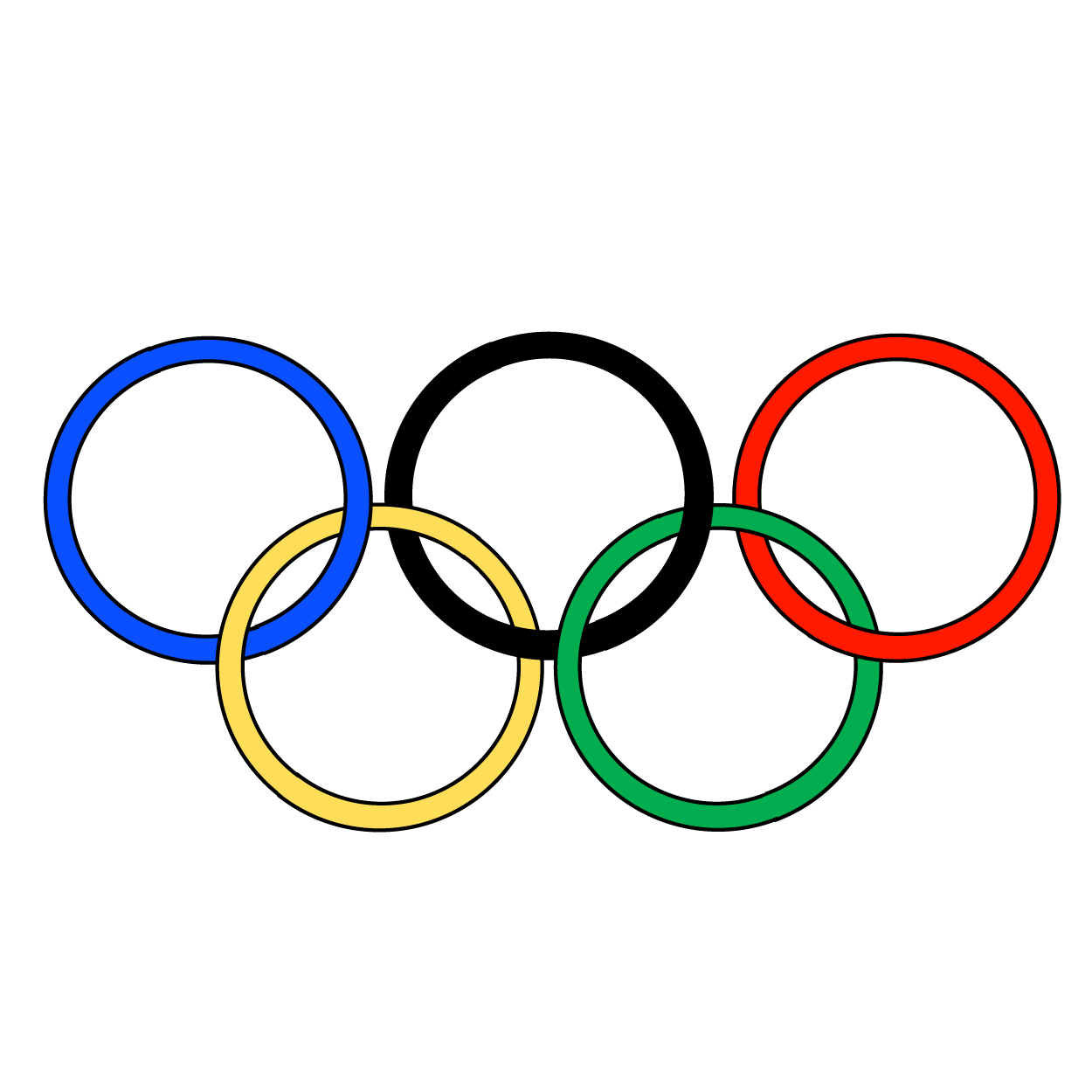 svg freeuse Olympic Clip Art Free