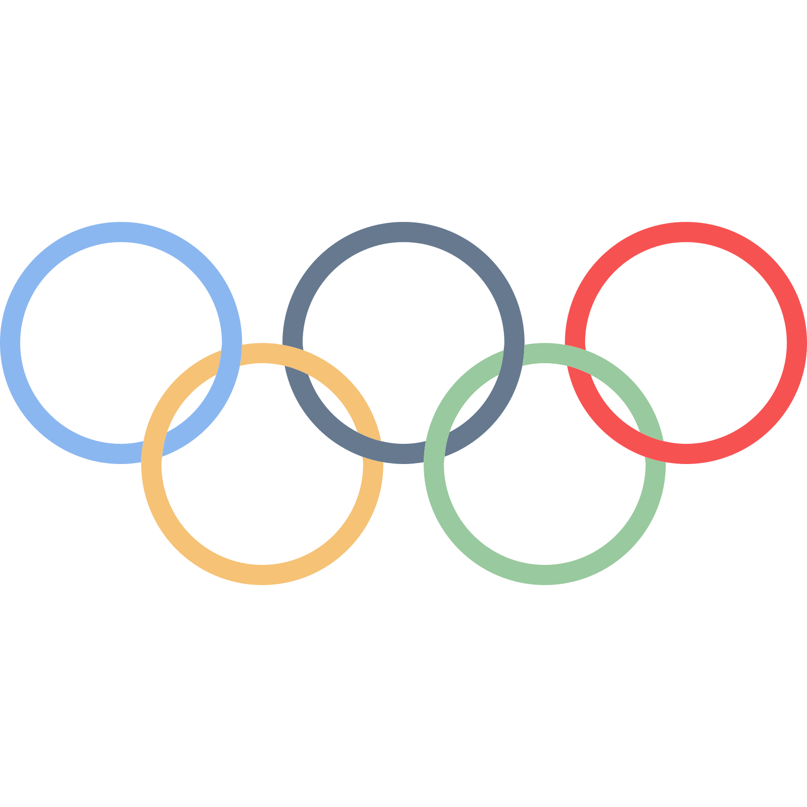 banner freeuse library Olympic rings PNG images free download