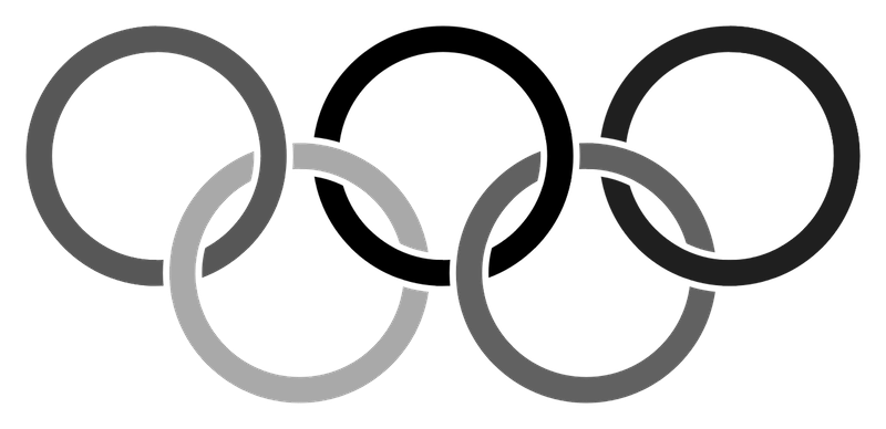 svg transparent library rings clipart black and white #68878807