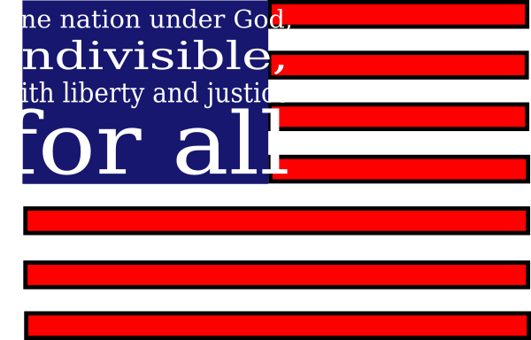 library One Nation Under God Clip Art at Clker