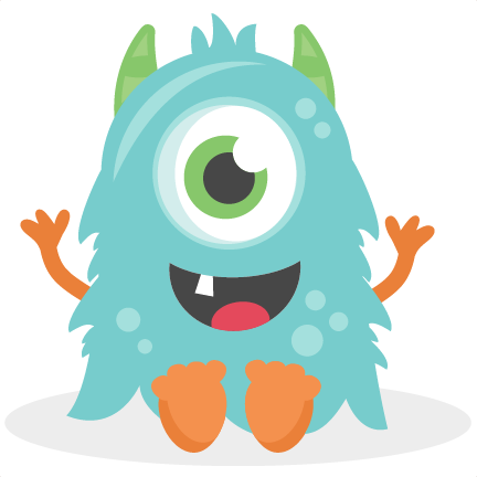 banner download Baby Monster SVG scrapbook cut file cute clipart files for