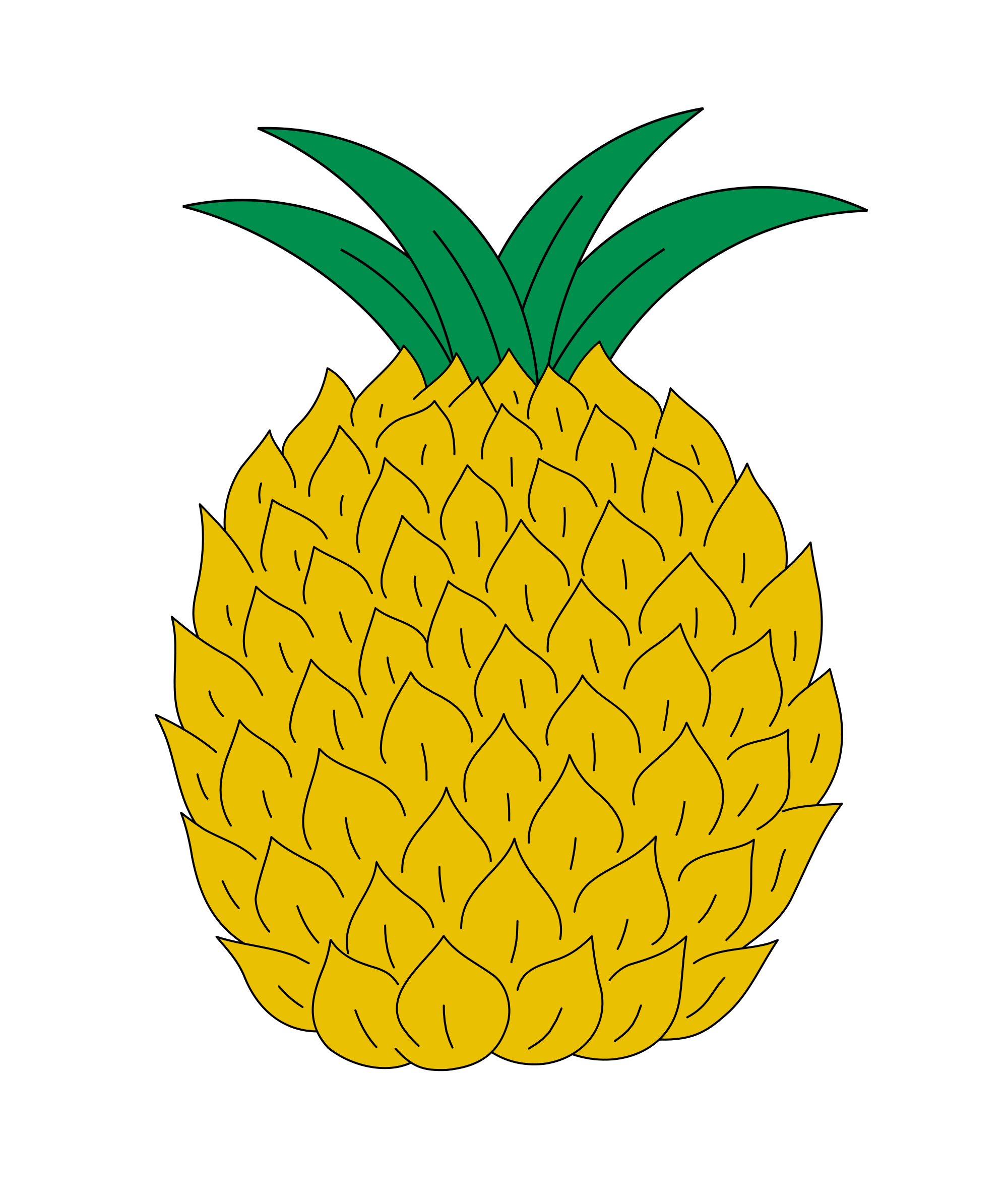 clip art transparent snack drawing pineapple #103291626
