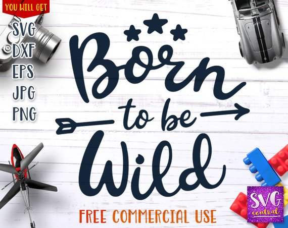 clip black and white download Born to be Wild svg
