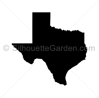 image download Texas silhouette clip art
