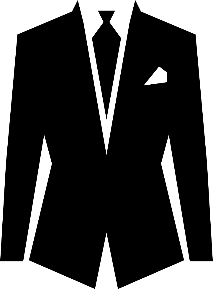 clipart free stock Suit And Tie Outfit Svg Png Icon Free Download
