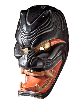 royalty free library Oni Masks