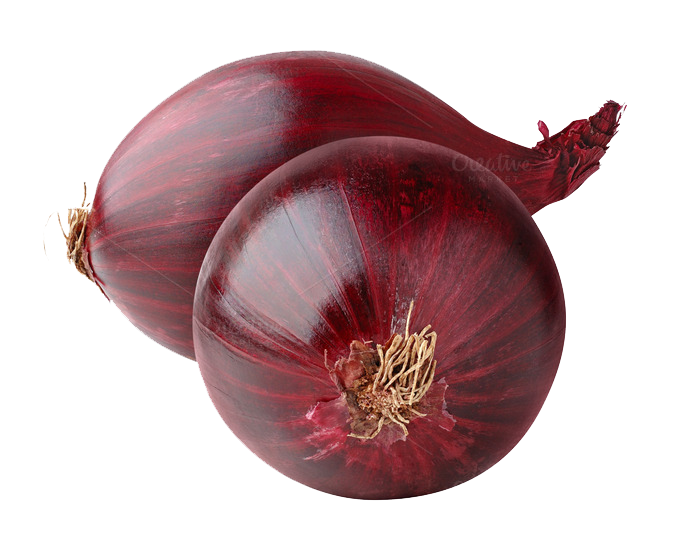 banner free Red Onion PNG Image