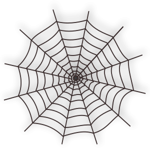 image transparent library Halloween Spider Web Icon Clipart