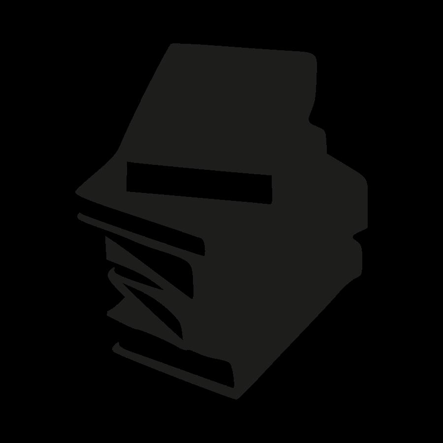 graphic black and white Books svg vector. Open book silhouette clip
