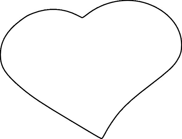 transparent stock Open Heart Clip Art at Clker