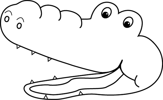 image royalty free download Open mouth clipart black and white. Greater than alligator clip