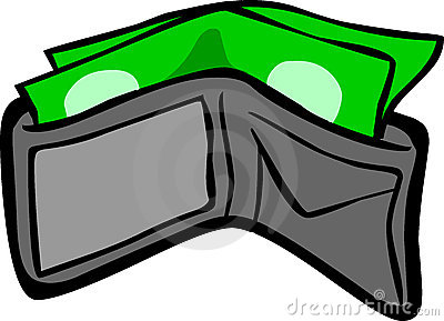 png Clip art library . Open wallet clipart.