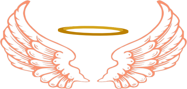 clipart Angel Wings And Halo Clip Art clipart