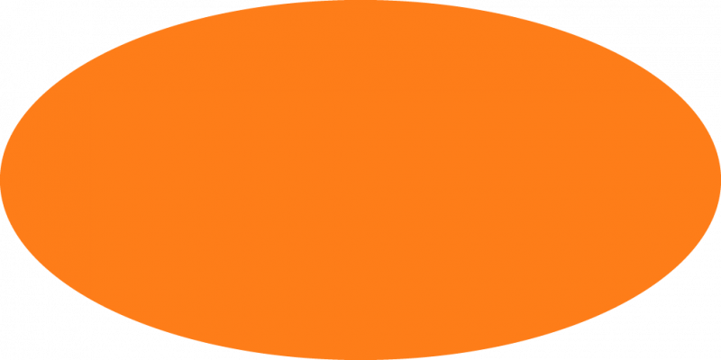 clip royalty free download Orange Oval Clipart