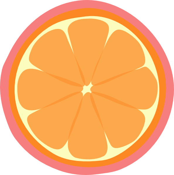 jpg freeuse stock Orange Slice Clip Art at Clker