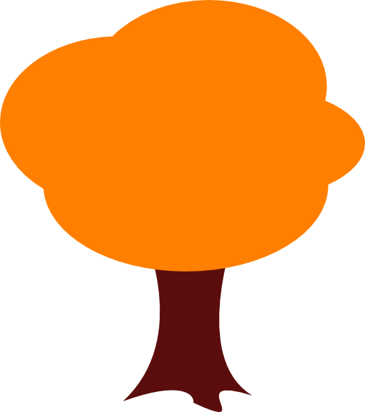 png free Orange Tree Clip Art at Clker