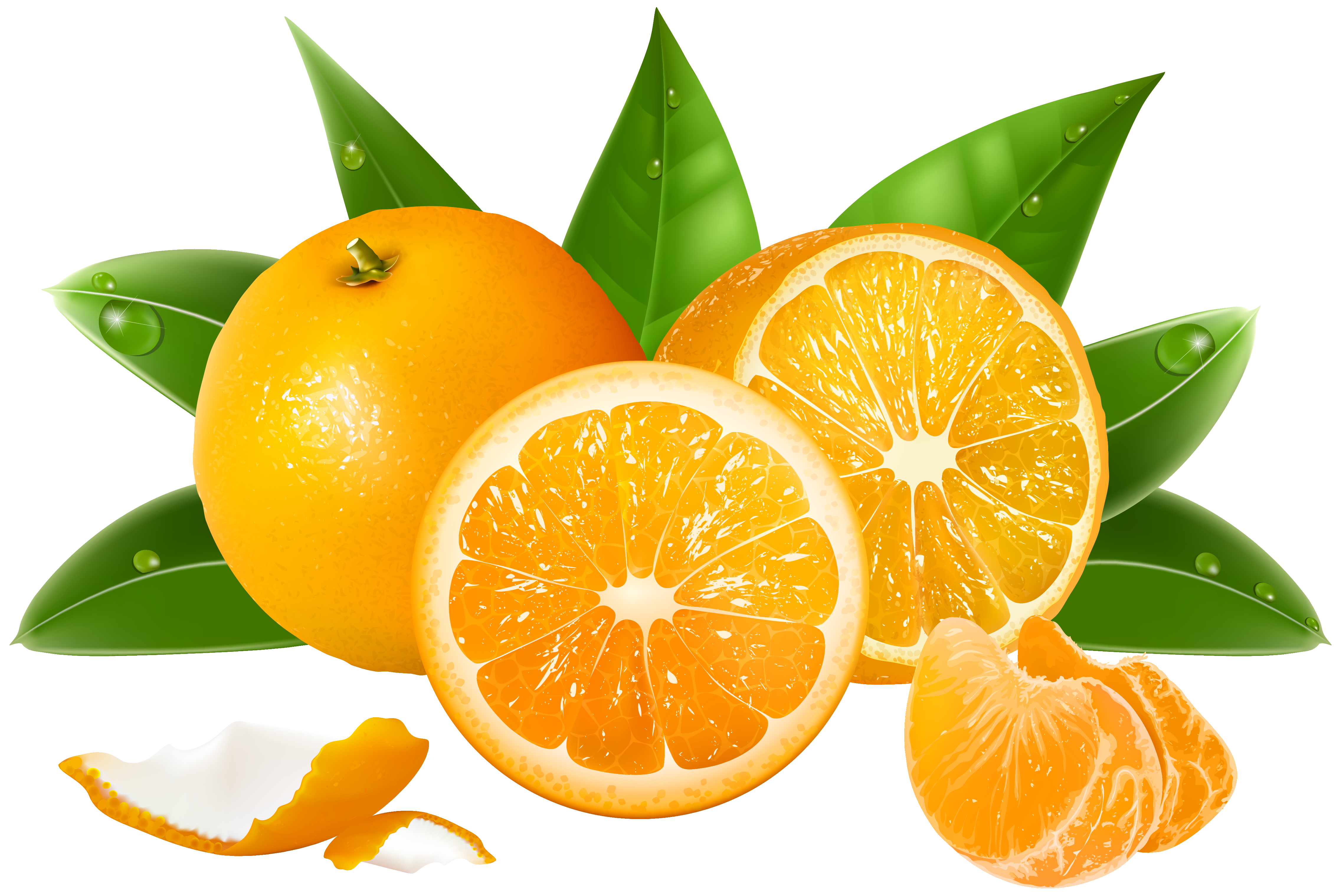 clipart Png image gallery yopriceville. Oranges clipart
