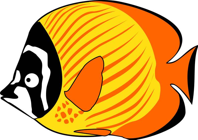 banner library library Ocean Fish Clipart