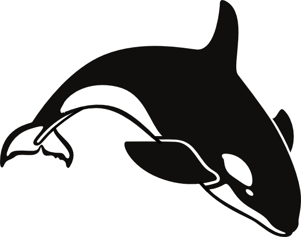 picture royalty free stock Orca clipart. Clip art vector panda.