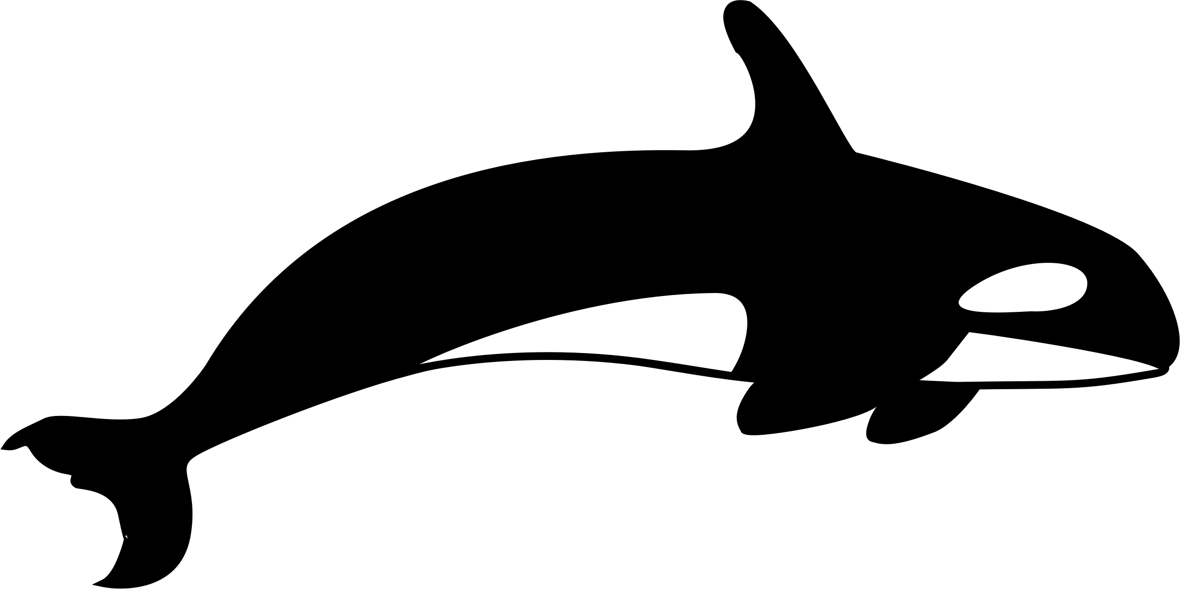 svg freeuse The big image png. Orca clipart.